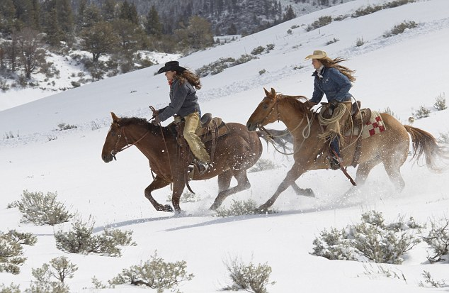 Winter Horseback Riding in Steamboat Springs, CO