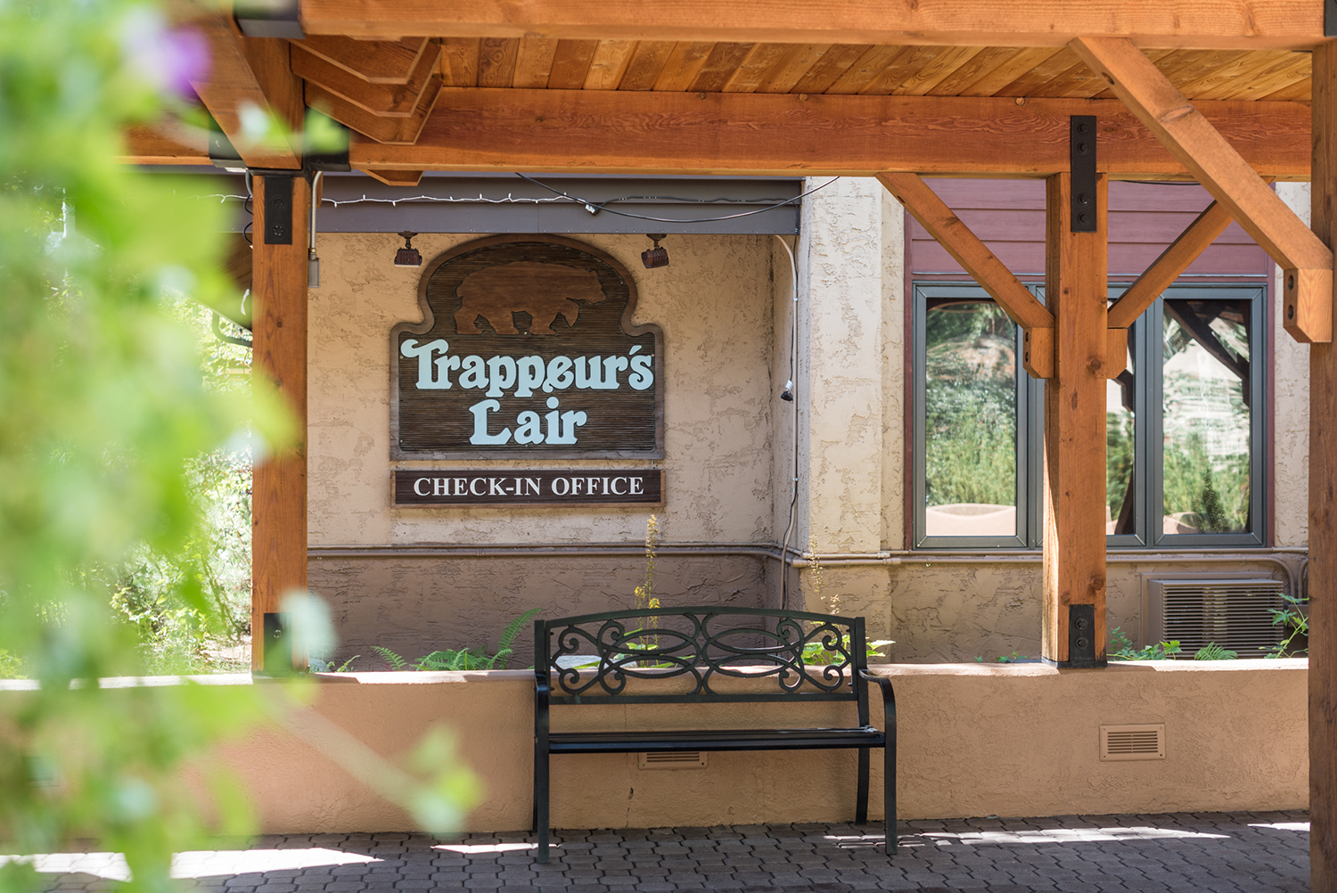 Trappeurs Lair: Trappeurs Crossing Amenity Building