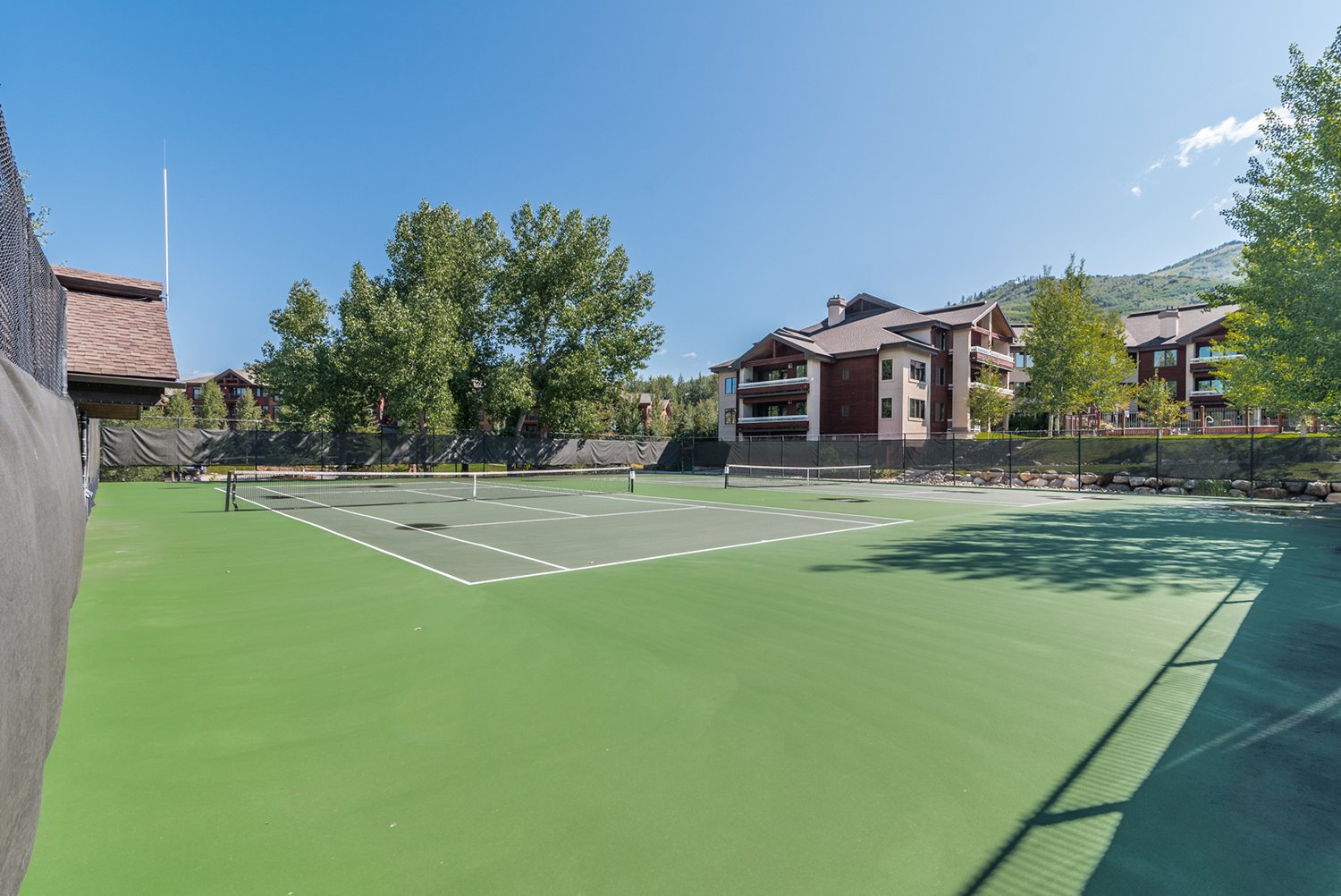 Trappeurs Crossing Resort Tennis Courts